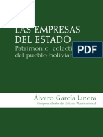LAS EMPRESAS DEL ESTADO- Por Alvaro García Linera