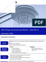 Bath Fittings and Accessories Market in India 2009 - Market Size, Drivers and Challenges
