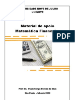 Matemática Financeira - Apostila 1