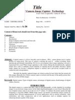 Multimedia Term Paper Updated