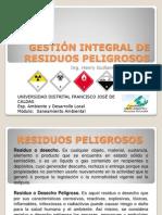 GESTIÓN INTEGRAL DE RESIDUOS PELIGROSOS
