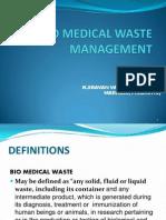 Bio-Medical Waste Mgnt