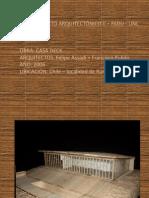 presentación taller II Casa Deck