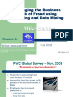 Managing the Business Risk of Fraud