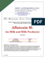 Aflatoxin M1-In Milk-Milk Products ELISA Kit