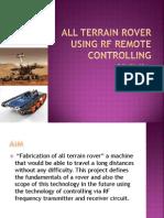 All Terrain Rover Using Rf Remote