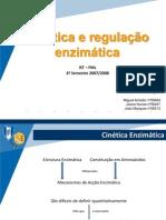 Cinética e regulaç¦o enzimática Trabalho Final