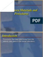 Labaratory Materials in Dentistry