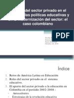 Papel Del Sector Privado-ppt- Cecilia Velez