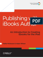 Publishing With iBooks Author