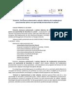 Prezentare Proiect_POSDRU_32629
