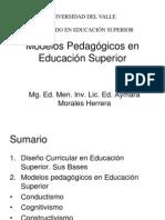 Modelos Pedagógicoes en E.S