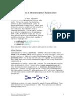 Detection & Measurement of Radioactivity