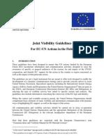EC-UN Joint Visibility Guidelines