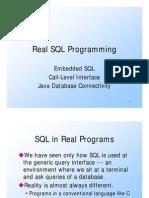 001.01 Ullman CS145 Embedded SQL CLI JDBC Fall 2004