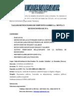 Curso Retenciones ISR e IVA