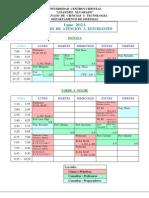 120409) Programación - Horario de Atención a Estudiantes