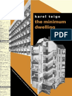 Karel Teige the Minimum Dwelling