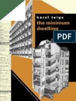 Karel Teige the Minimum Dwelling