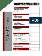 Curriculum Guide 2012-2013