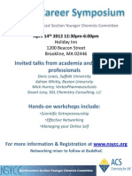 Career Symposium 2012