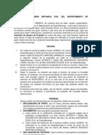 ITERDICTO AMPARO DE POSESIÓN