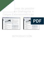 Transductores de presión basados en Galgas Extensiométricas