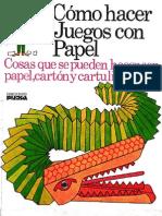 Como.hacer.juegos.con.Papel. .Ediciones.plesa