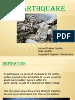 Earthquake by Suman Prasad Mehta