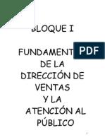 Curso Direccion de Ventas empresas turísticas