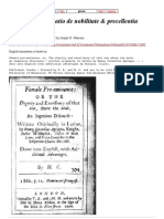 Agrippa_ Declamatio de nobilitate & precellentia Fœminei sexus