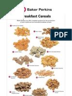 Product Sheet Breakfast Cereals Apr 2011