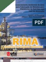 Relatório de Impacto Ambiental - RIMA_UTC Engenharia S.A_Charqueadas_RS