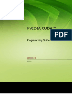 NVIDIA CUDA ProgrammingGuide
