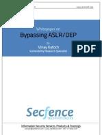 Whitepaper on ASLR DEP Bypass Secfence Technologies