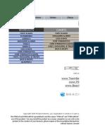 P90x Excel Spreadsheet