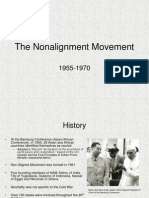 The Non Alignment Movement