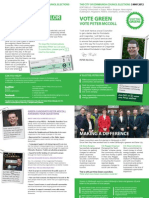 April Leaflet - Peter McColl - PC