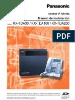 Manual de Instalacion Tda30.100.200