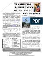 Veterans & Military Families Monthly News-April 2012