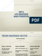 Unit-1Basic Principles of Insurance