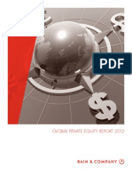 Bain and Company Global Private Equity Report 2012