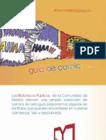 Guía de cómics-Bibliotecas Comunidad de Madrid