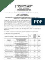Ufsc Edital Completo