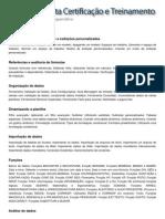 Conteúdo Programático - Excel 2010 - Módulo II