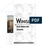 Manual Winisis