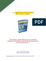 BONUS 1 - Cum Poti Face Mii de Dolari Online Fara a Avea Un Website