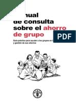 Manual de Consulta Sobre El Ahorro en Grupo