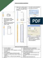 Ficha Grafica de Funciones Logaritmicas