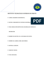 MODELOS PRESCRIPTIVOS DEL DESARROLLO DE SISTEMAS DE INFORMACIÓN.